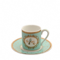 30% Off Bombay Duck Miss Bennett Bird Espresso Cups Set of 2 Mint